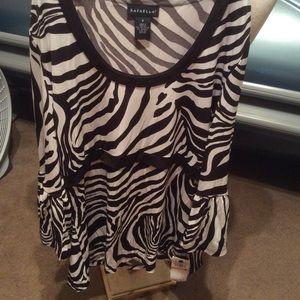 NWT pretty Rafaella small blouse